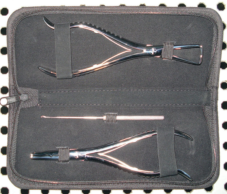 Hair Extension Plier Silver (HEP4)