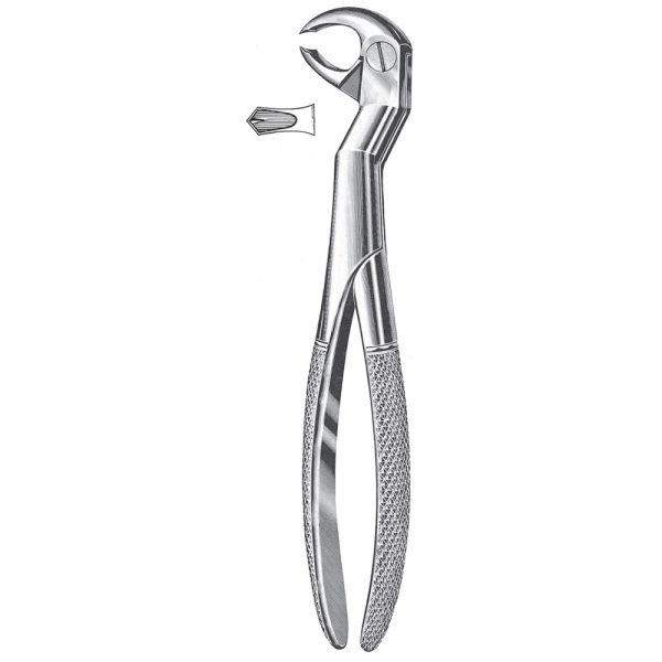 Wisdom Teeth Extracting Forceps, Root Fragment Forceps – Left lower wisdoms & molars