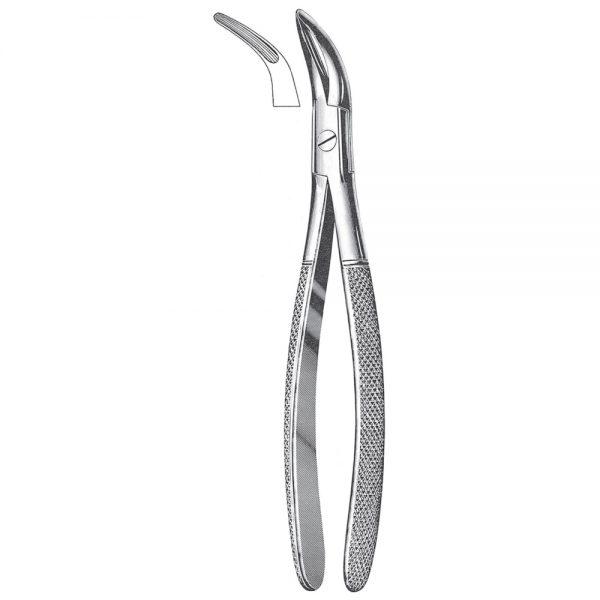 Wisdom Teeth Extracting Forceps, Root Fragment Forceps – Universal pattern for lower teeth